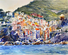 Beaulieu sur Mer, French Riviera Seascape