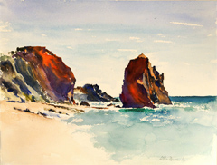 St Jean de Luz, Basque Coast Seascape
